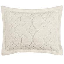 Ashton 100% Cotton Tufted Chenille Sham - Standard