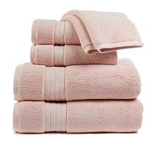 august & leo Luxe 100% Turkish Cotton 6-piece Towel Set