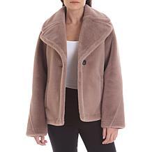 Avec Les Filles Bonded Faux Fur Jacket