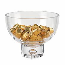"""Badash Lead-free Crystal Galaxy Pedestal Candy or Nut Bowl 6.25""""x5"""""""