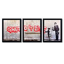 Banksy 'Ghetto For Life' Multi-Panel Art Collection