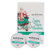 Barnie's Coffee Decaf Santa's White Christmas Single Serve Pods