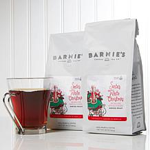 Barnie's Coffee Kitchen Santa's White Christmas Ground Coffee 2-pack