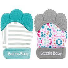 Bazzle Baby Chew Mitt 2-Pack