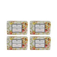 Beekman 1802 Apricot & Honey Tea Bar Soap 4-piece Set Auto-Ship®