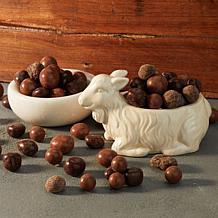 Beekman 1802 Goat Poop™ Chocolates and Goat Candy Dish