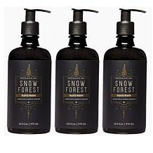 Beekman 1802 Snow Forest Goat Milk Hand Wash Trio