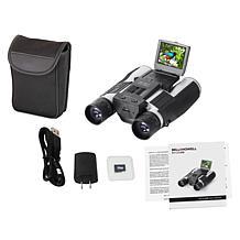 Bell + Howell 1080p FHD Camcorder Binoculars w/Memory Card & Voucher