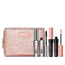 Benefit Cosmetics Lashes All Year 4-piece Mascara Set with Makeup Bag