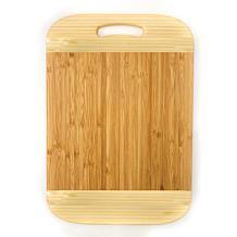 "BergHOFF Bamboo Handled Cutting Board Two-tone, 14.2"" x 9.9"" x 0.7"""