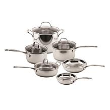 BergHOFF EarthChef 10-piece Stainless Steel Copper Clad Cookware Set