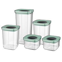 BergHOFF Leo Collection 5-piece Smart Seal Food Container Set - Green