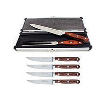 BergHOFF Pakka Wood 7-piece Steak & Carving Set