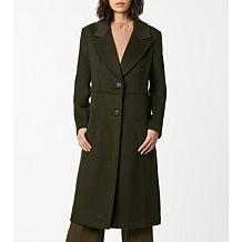 Bernardo Classic Solid Wool Coat