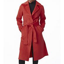 Bernardo Double Face Belted Coat