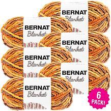 Bernat Blanket Yarn 6-pack - Fall Leaves