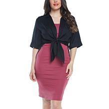 Blooming Women Maternity Linen Blend Button Nursing Shirt