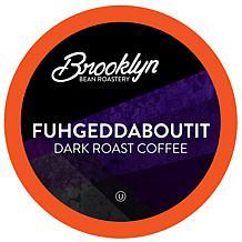 Brooklyn Beans Fuhgeddaboutit Dark Roast Coffee Pods for 2.0 Keurig