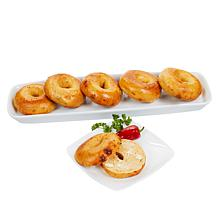 Brooklyn Food Group (24) 4 oz. Plain Kettle Boiled Bagels Auto-Ship®