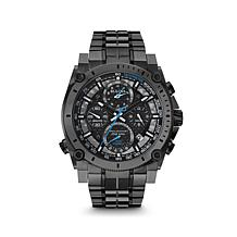 Bulova Men's Black Chronograph Bracelet Watch