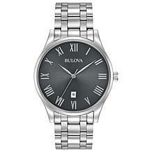 Bulova Men's Classic Stainless Steel Watch