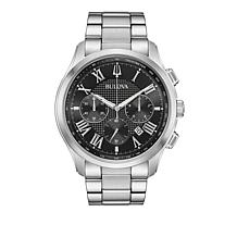 Bulova Men's Classic Wilton Stainless Steel Chronograph Watch