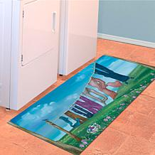 "Bungalow ""Laundry Line"" Runner Mat"