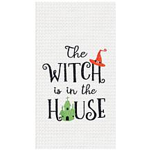 C&F Home House Witch Towel S-2