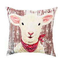 C&F Home Lamb Indoor/Outdoor Pillow