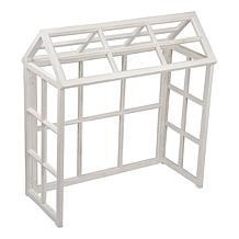 C&F Home Windowpane Greenhouse Display