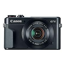 Canon PowerShot G7 X Mark II  20.1MP 4.2X Optical Zoom Camera
