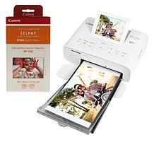 Canon Selphy Photo Printer with 113 Sheets of Paper