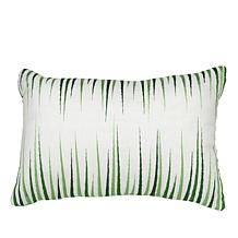 Carleton Varney Kapalua Bay Decorative Embroidered Oblong Pillow