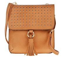 Carlos by Carlos Santana Studded Flap Crossbody Bag