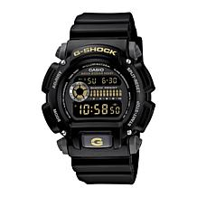 Casio Men's G-Shock Black/Goldtone Digital Watch