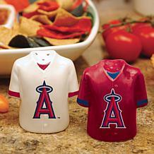Ceramic Salt and Pepper Shakers - LA Angels of Anaheim