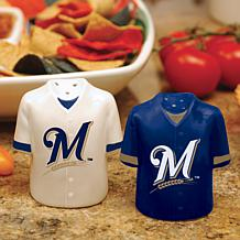 Ceramic Salt and Pepper Shakers - Milwaukee Brewers