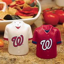 Ceramic Salt and Pepper Shakers - Washington Nationals