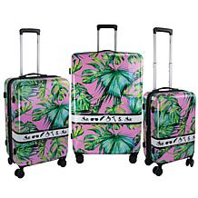 Chariot 3-piece Hardside Luggage Set - Paradise