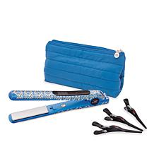 CHI Cobalt Smart GEMZ Volumizing Hairstyling Iron with Clips and Bag