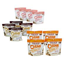 Chunk Nibbles (12) 2 oz. Bags Sweet & Salty Snack Mixes
