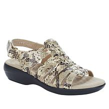 Clarks Collection Alexis Blossom Leather Sandal