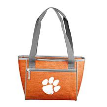 Clemson Crosshatch 16-Can Cooler Tote
