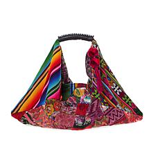 Clever Carriage Company Antigua Patchwork Hobo