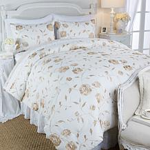 Clever Carriage Home Sussex Mansion Rose Comforter Set