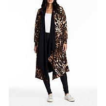 Coldesina Reversible Mimi Cape in Leopard
