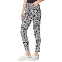 Colleen Lopez Printed Twill Skinny Jean