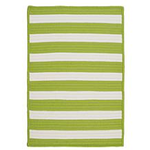 Colonial Mills Stripe-It Rug Bright Lime