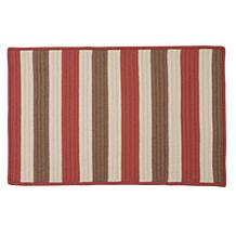 Colonial Mills Stripe-It Terracotta Rug