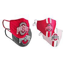 Colosseum Collegiate NCAA Team Logo Face Covering 4-Pack - Ohio State